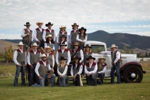 Butler Bags sponsors University of Montana Rodeo Team's 25th Cowboy Ball