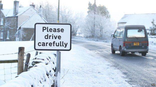 Top tips for driving in snow and ice