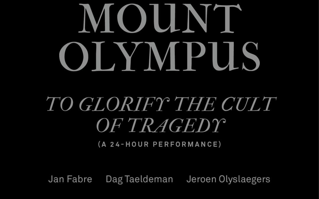 Dag Taeldeman – Mount Olympus