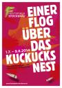 Plakat einer flog OS-web