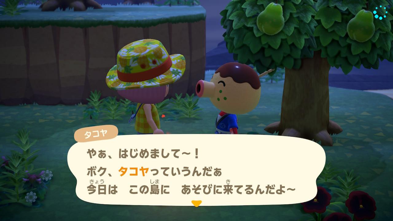 【あつ森】おっとり系の可愛い住人がこの子←可愛いよなぁ…【あつまれ どうぶつの森】