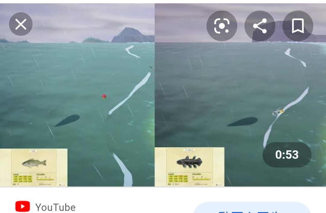 【あつ森】特大と超特大の魚影の違いが分からないんだが見分け方ってある?【あつまれ どうぶつの森】