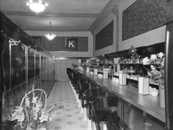 Spokane Café Interior