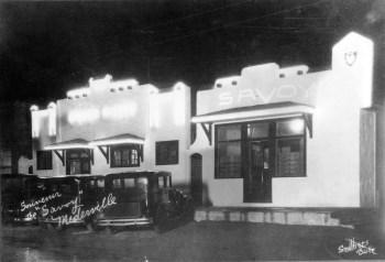 The Savoy at Night