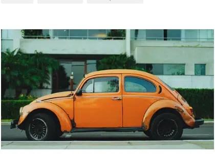 used VW Beetle, used VW
