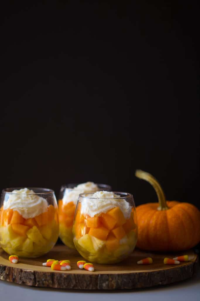 Healthy Candy Corn Parfaits