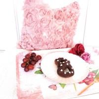 Schokladige Donutherzen zum Valentinstag