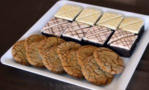 Med brownie cookie tray