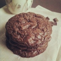 How to deal with stress or my Triple Chocolate Cookies