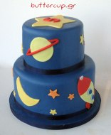 rocket-and-planet-cake