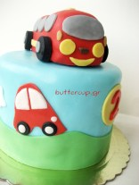 wheels on the bus cake