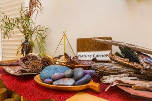 Nature Corner in Childcare