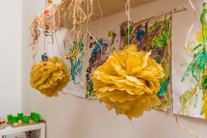 Buttercups Childcare Continuous art projects