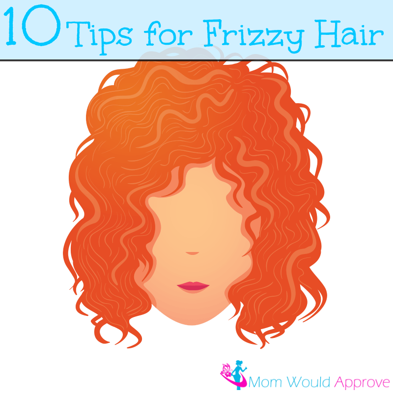 how to get rid of frizz naturally