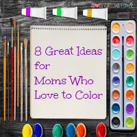 8 Great Mother's Day Ideas for Moms Who Love to Color