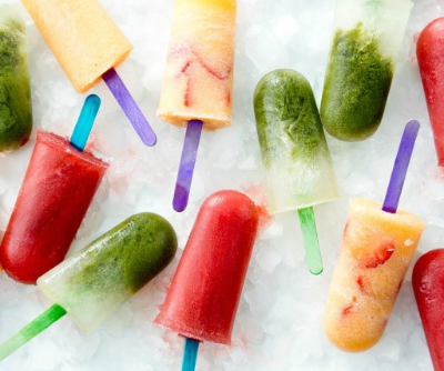 DIY Ginger-Cantaloupe Popsicle