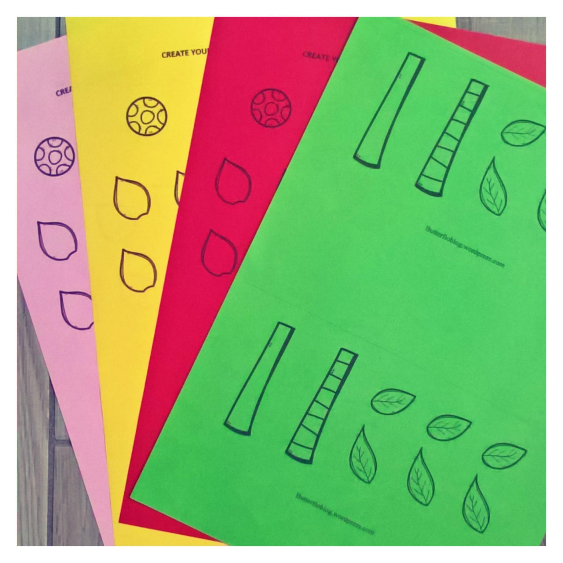 Transform Colour Cut And Paste Worksheet Butterflo Kids