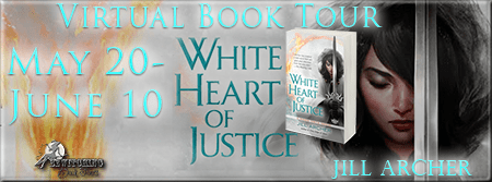 White Heart of Justice Banner 450 x 169