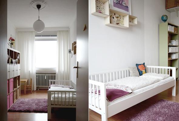 Ich liebe Kinderzimmer! Heute: Pedilus Mädchentraum auf 9 qm ... | {Kleine kinderzimmer gestalten 82}