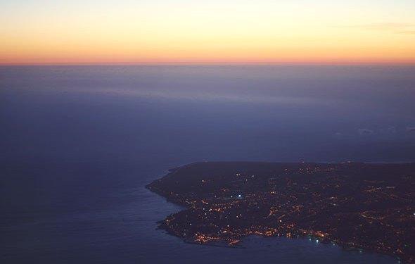 Lissabon Anflug