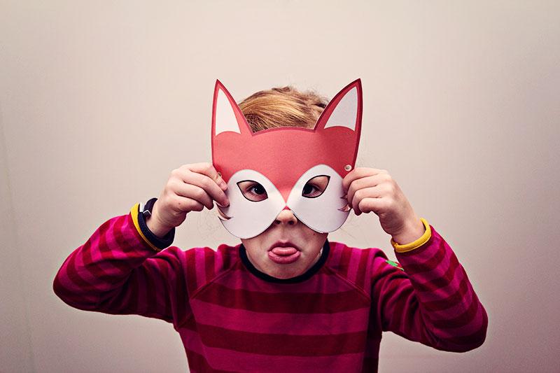DIY Fuchsmaske