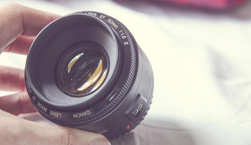 besser fotografieren saubere linse