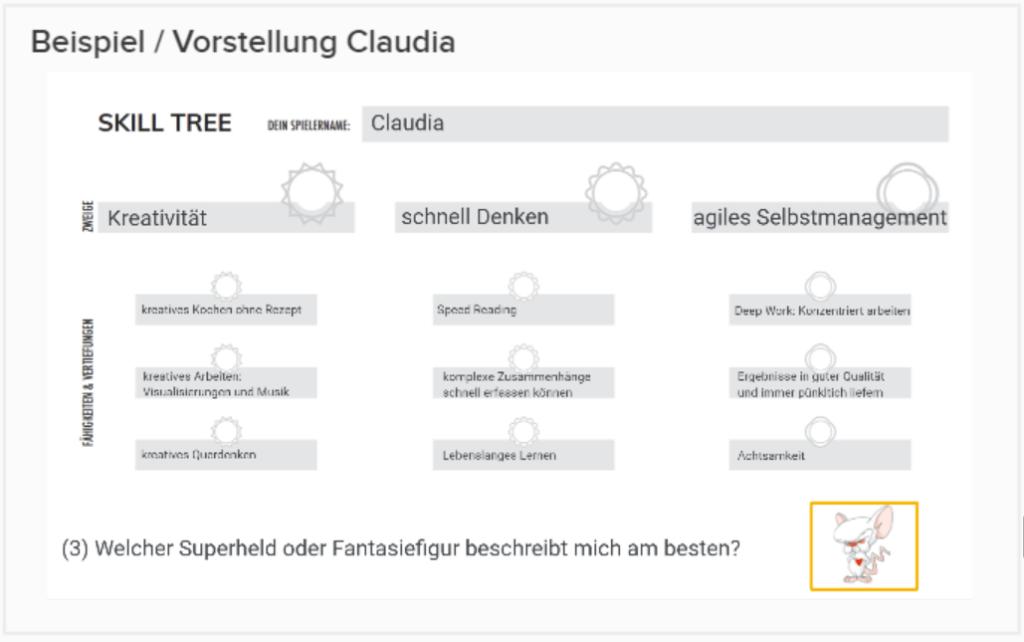Skill Tree Claudia