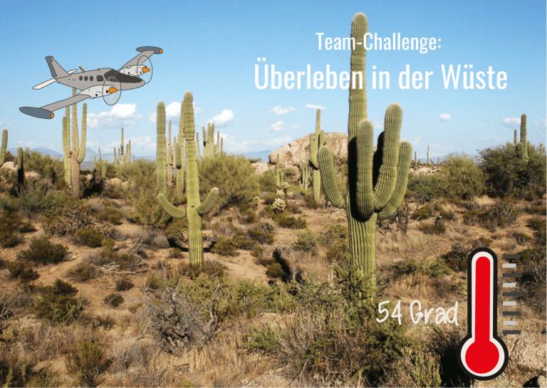 Read more about the article Team-Challenge: Überleben in der Wüste