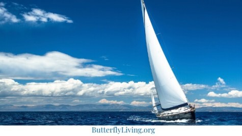 Sailboat-how to calm down when stressed