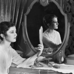 Lady looking in mirror-What is Identity in Christ
