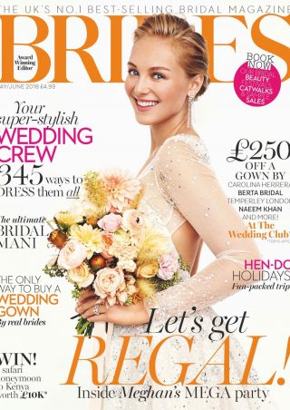 Brides Magazine May June 2018