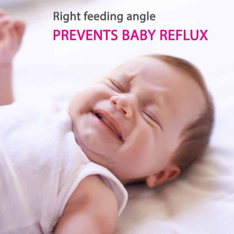 breastfeeding baby reflux