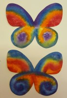 3 - Cut out butterfly