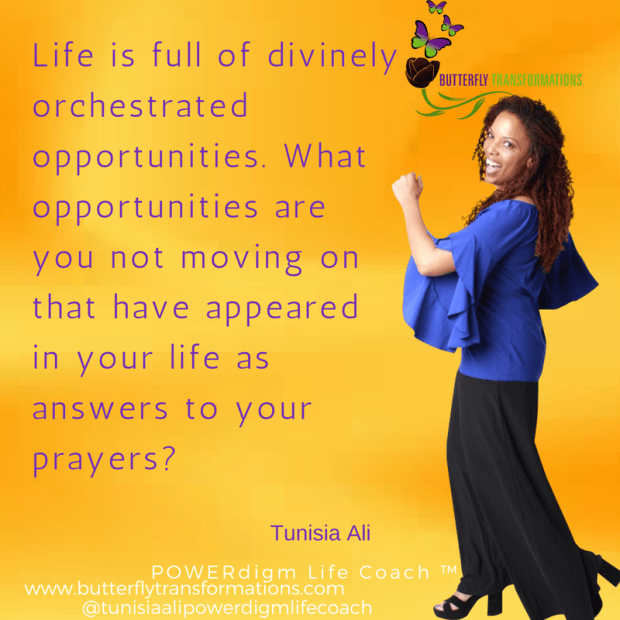 divinely orchestrated opportunities