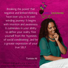 Breaking the power of negative thinking