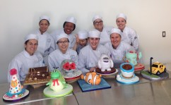 Tired class with our sculpted cakes