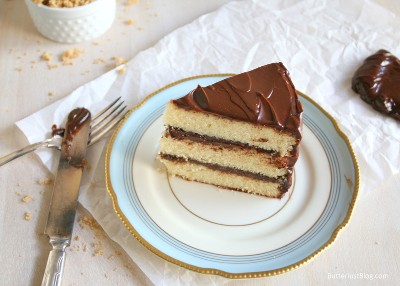 Refrigerator Chocolate Fudge Frosting Cake: Classic Layer Cakes: Yellow With Chocolate Fudge Frosting