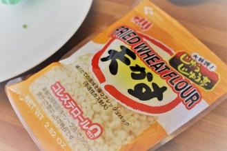 fried wheat flour/tempura crisps