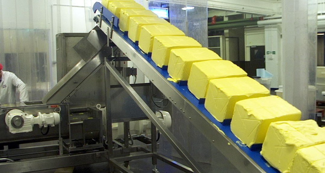 Pump Butter from Chiller Directly into Mixers