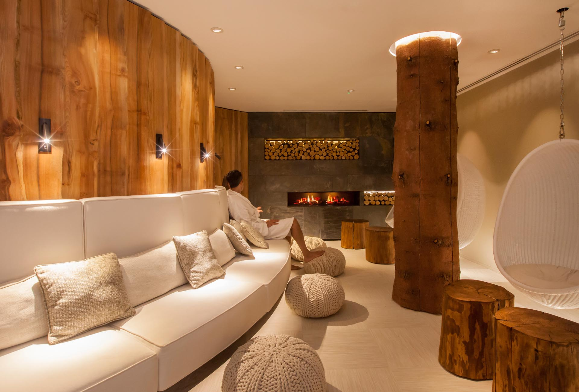 Forest Mere Thermal Retreat   Butterscotch Champneys Forest Mere Spa Interior Design relax