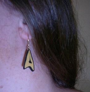 Dangly Starfleet Insignia!