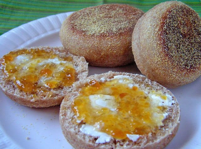 Homemade English Muffins: Butter with a Side of Bread