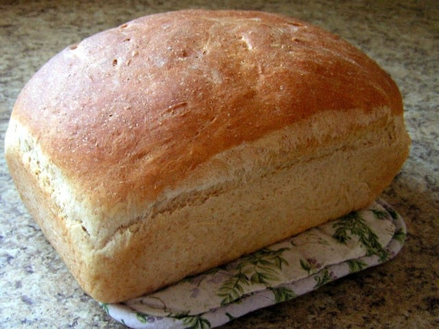 EASY HOMEMADE BREAD RECIPE - Butter with a Side of Bread