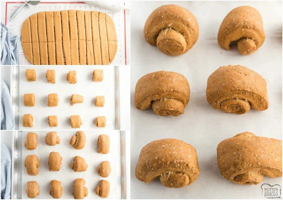 How to Make Soft Wheat Dinner Rolls