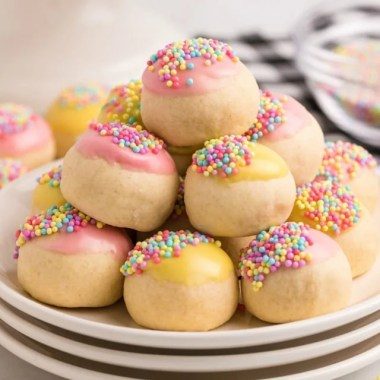 Homemade Italian Cookies recipe