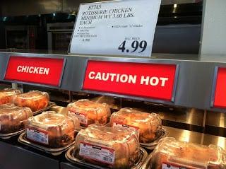 Utah Costco Rotisserie chickens