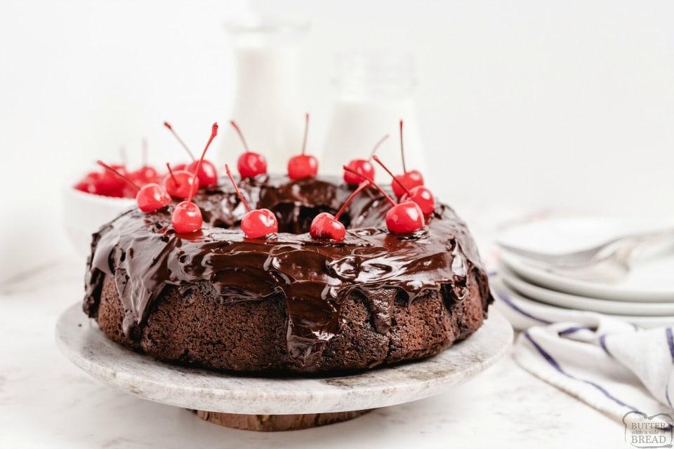 Best Chocolate Cherry Cake recipe