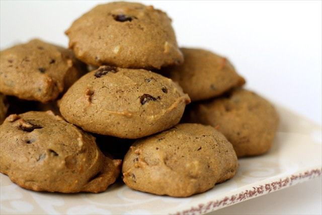 Pumpkin Chocolate Chip Cookies are my go to fall treat that I could easily eat all year long. Lucky these are easy to make any time you want them!