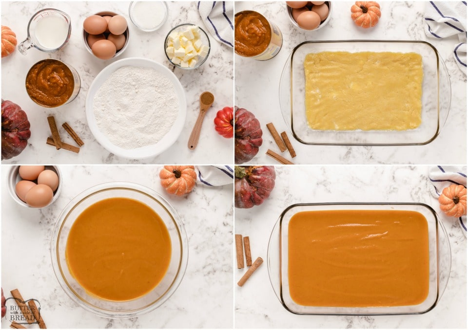 how to make a pumpkin pie cake recipe