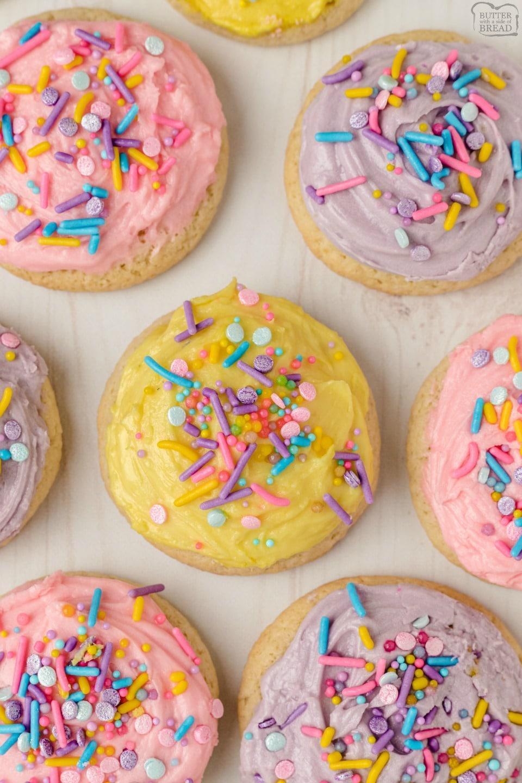 Best Soft Sugar Cookies recipe
